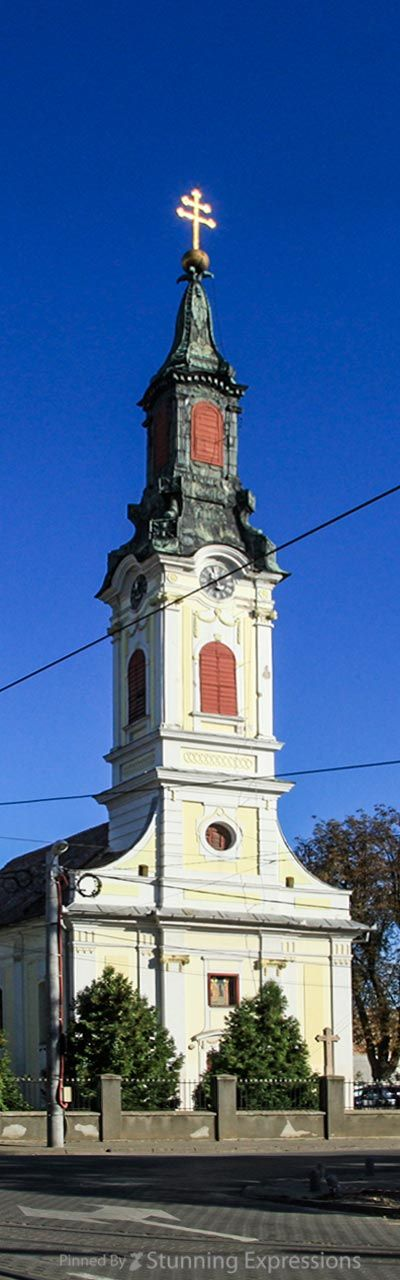 Arad, Romania - Serbian Otrhodox Church