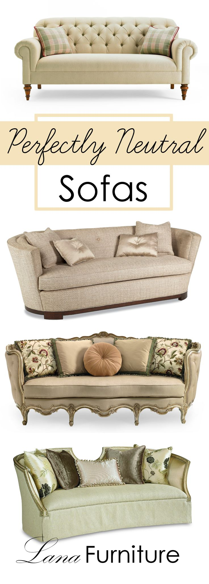 Neutral Sofas Are All The Rage   And For Good Reason   Theyu0027re Easy