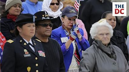 A bill to increase spending for veterans' services failed to move forward in the Senate, despite support from 54 Democrats and two Republicans.