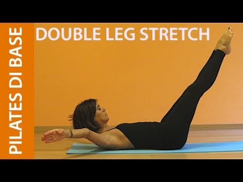 Pilates - Esercizi di Base - Double Leg Stretch