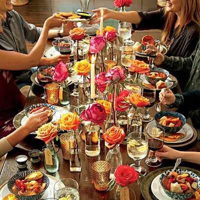 16 Casual & Confident Supper Club Menus -- Need a fresh menu for your supper club? Try one of these easy, elegant menus, designed to feed (and impress!) a crowd.