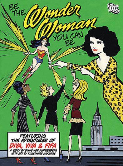 Diane von Furstenburg comic book by Konstantin Kakanias - http://www.collectista.com/interview-konstantin-kakanias/#.UwuxzPRdUkE
