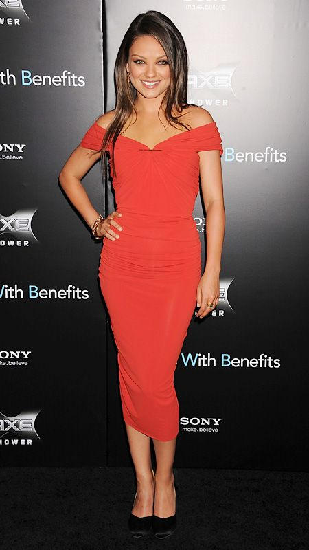 Style File: Mila Kunis' Best Red Carpet Looks Ever - In Lanvin, 2011 from #InStyle