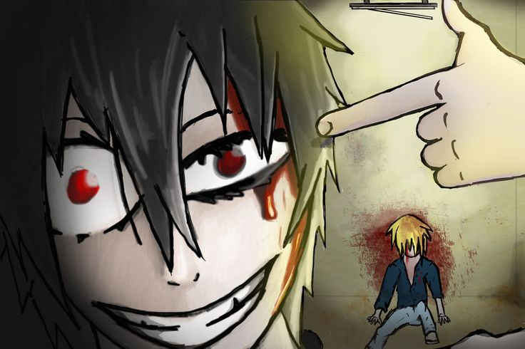 inspired by  shiro from deadman wonderland, attempt of a Crazy Face, anime, manga    by Tuxman27