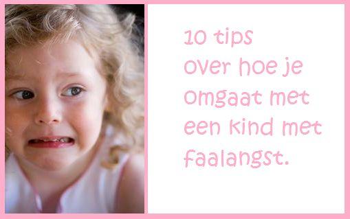 10 tips over hoe je omgaat met een kind met faalangst - KlasvanjufLinda.nl - vol met leuke lesideeën en lesidee