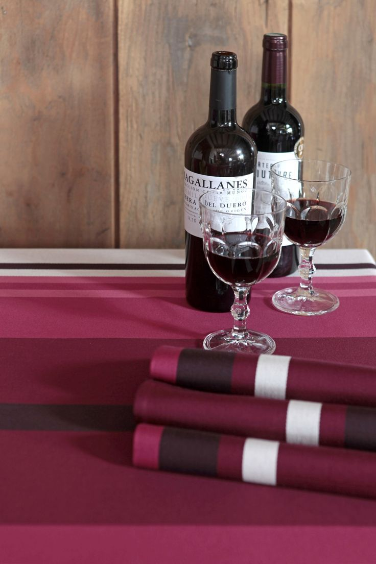 Serviettes de table Pampelune Grand Cru >> www.jean-vier.com