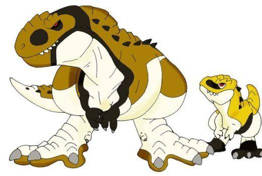 Pokemon-Fake- Prehistoric 4 by JoshuaDunlop
