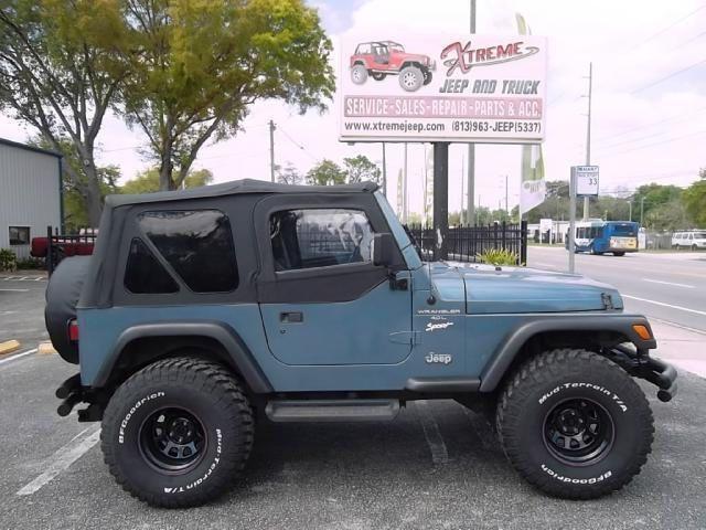 1997 Jeep Wrangler, 112,668 miles, $9,995.