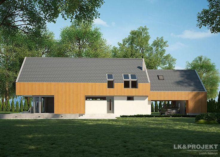 Projekty domów LK Projekt LK&1167 zdjęcie 2