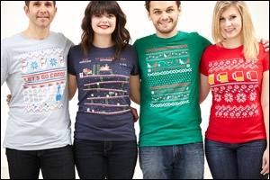 A creative promotional t shirt idea we love ugly sweater for Tacky t shirt ideas