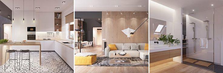 .entry-title {display:none;}    Originale appartamento in stile scandinavo moderno. Design elegante e sorprendente.     Il lato filante e moderno dell'arredamento di ispirazione scandinava è una scelta perfetta per i progettisti che vogliono uno stile calmo e coesivo che