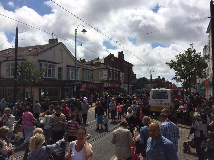 Fleetwood Tram Sunday, 17 July 2016