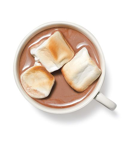 Malted Hot Cocoa With Toasted Marshmallows 9 Fall Warm Drink Recipes