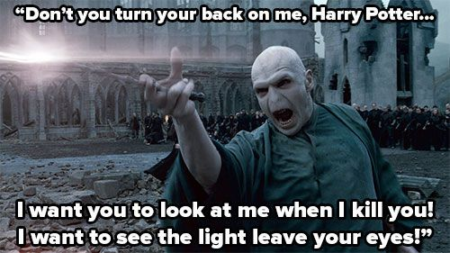 Voldemort – Harry Potter and the Goblet of Fire   16 Villainous One-Liners That Still Send Shivers Up Your Spine