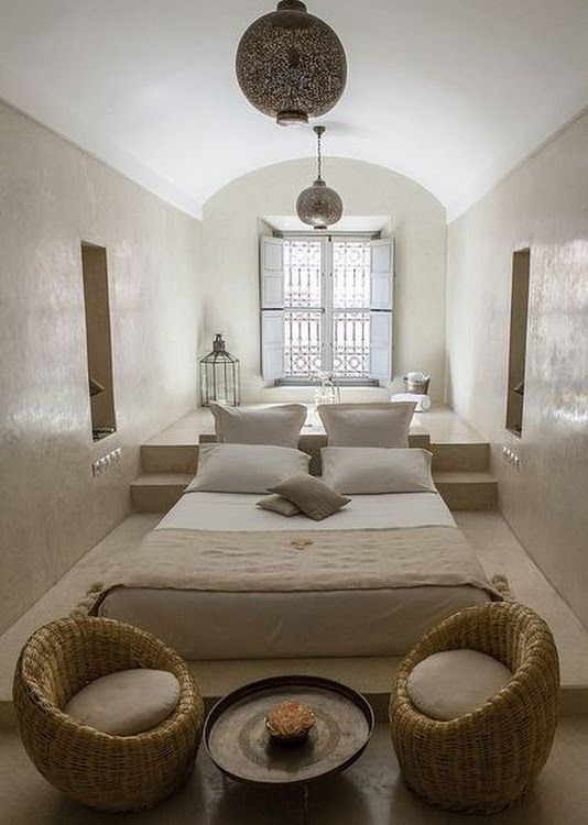 Perfect moroccan bedroom for the minimalist moroccan for Minimalist bedroom pinterest