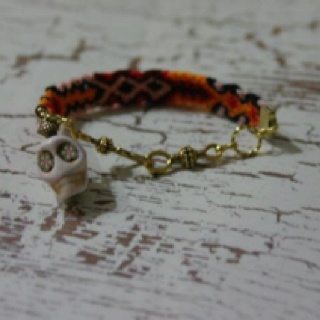 Haute Hippie Friendship Bracelet - Day of the Dead