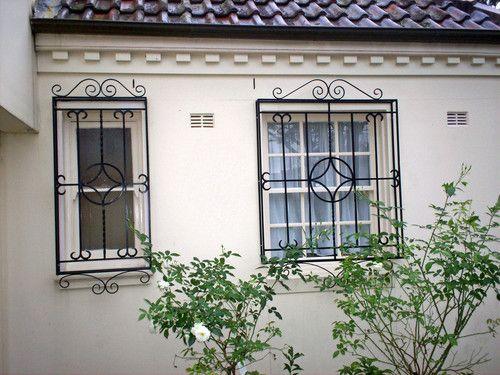 Security Windows, window bars - KINGS Security Doors, Sydney