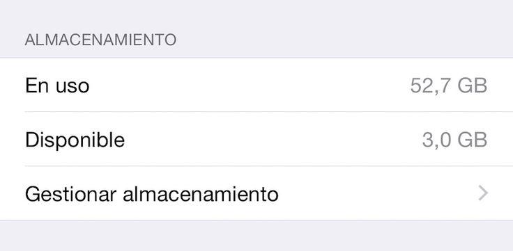Cómo liberar espacio en mi iPhone 6 - http://www.actualidadiphone.com/como-liberar-espacio-en-mi-iphone-6/
