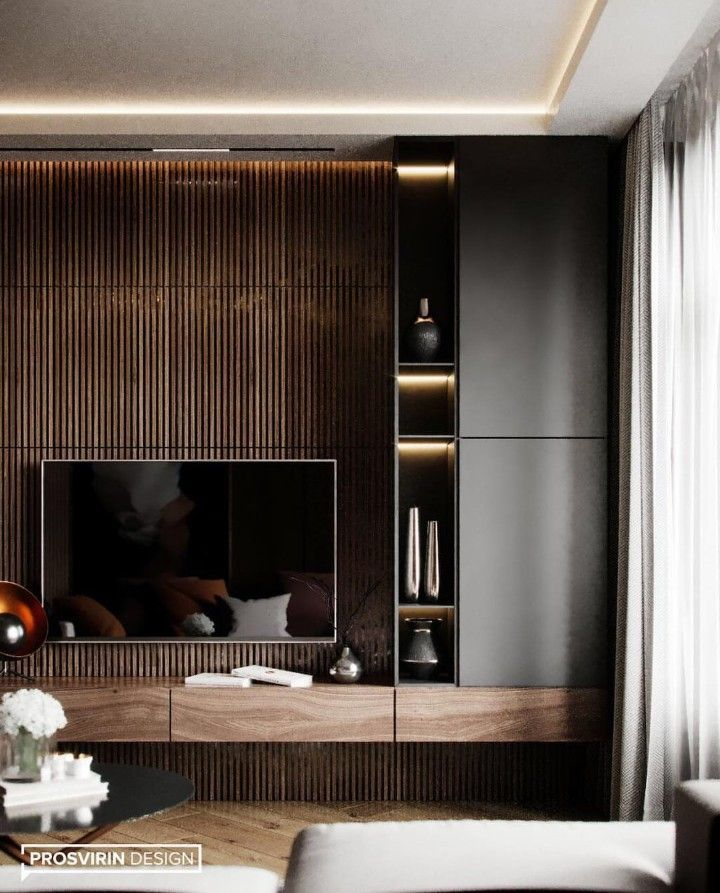 Pin By Karol Iss On Wall Of The Living Room Tv Room Design Living Room Design Modern Luxury Living Room