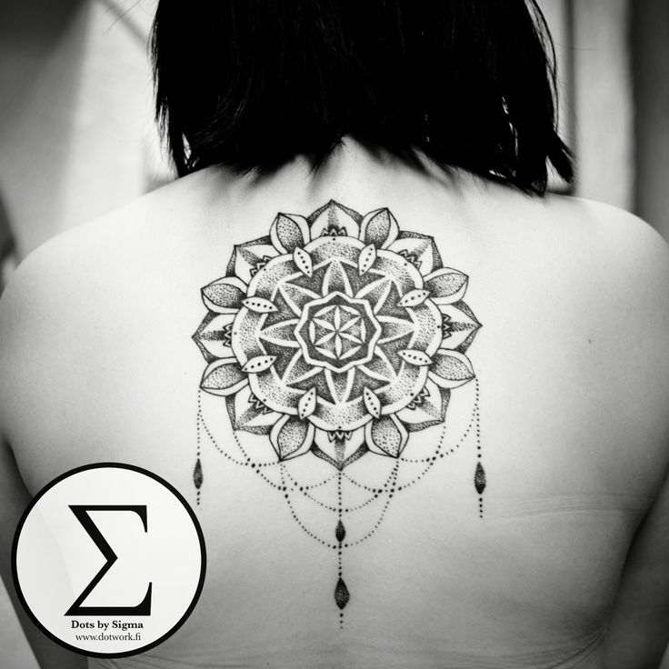 HEALED - Super nice of her to stop by and let me snap a pic of this big mandala now it's healed. Check out my Instagram @dotsbysigma