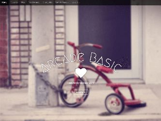 Template Arcade Wordpress Theme