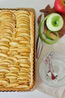 Zoet & Verleidelijk: Mascarpone appeltaart