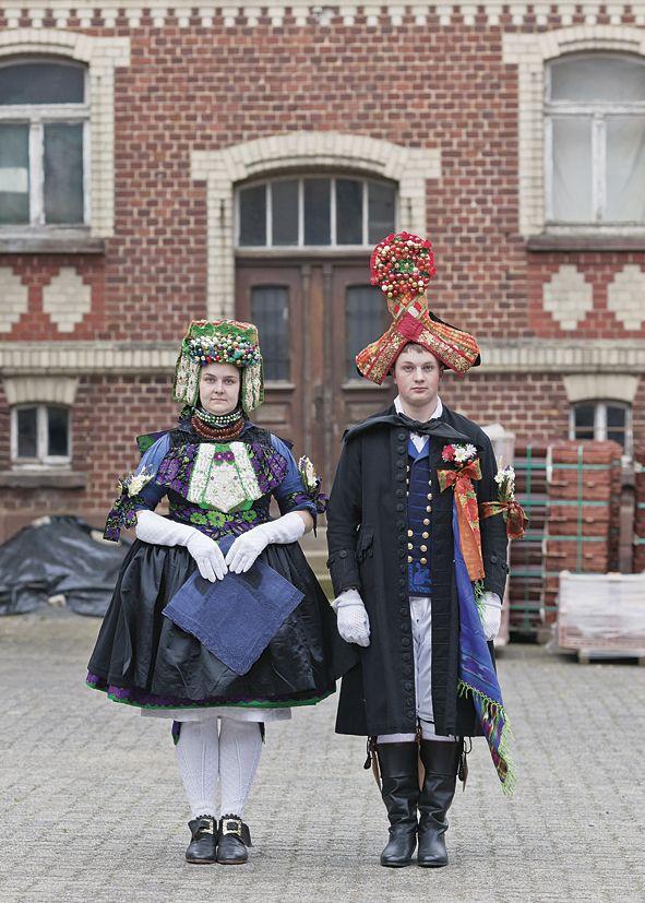 Kathrin und Ralf Nagel, Hessische Volkstrachten, 2012, photo: Carmen Kirchhain #Schwalm