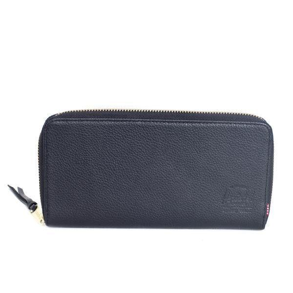 Avenue B Black Leather Wallet by Herschel Supply Co.