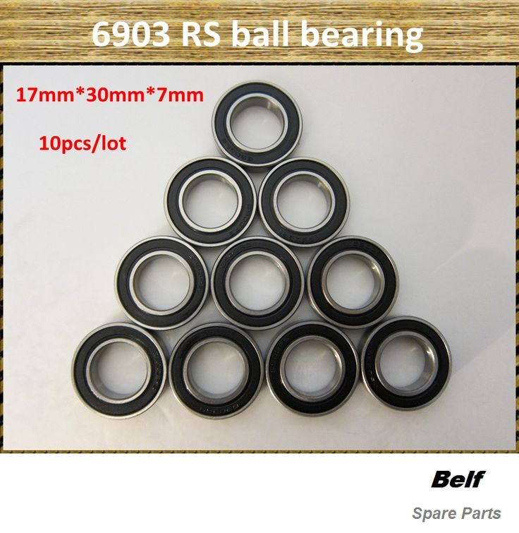 10pcs/lot, rc car spare parts,6903 RS  ball bearing 17mm*30mm*7mm, free shipping //Price: $12.48 & FREE Shipping //     #RCBoat