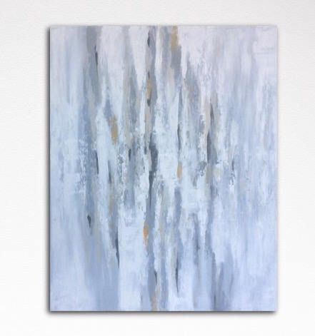 Thank you for viewing my Artwork!  This is a beautiful Abstract Painting with soft shades of gray, beige, ochre and white.  Size: 100 cm (39.40) x 80 cm (31.50) x 4 cm (1,60) Medium: Texture and Acrylics on Canvas. Canvas stretched on wooden frame, ready to hang. Signed in front and back.  All my paintings are one of a kind and created by myself. They are signed in front and back.  Every painting is made with great care. I only use high quality materials.  If you are looking for an other…