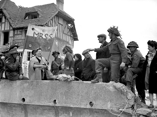 d-day invasion end