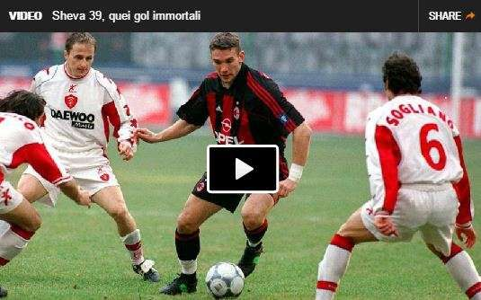 Video: Shevchenko – a life of scoring goals