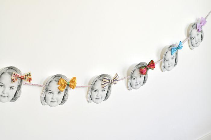 cute birthday-girl garland by my sparkle