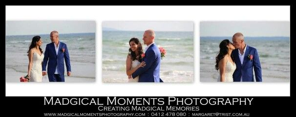 Madgical Moments Photography  Beach Wedding