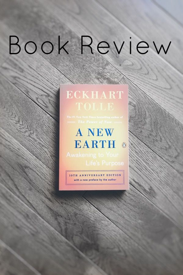 A New Earth Book Review - Art as the Anchor: Trying to decide whether you want to read this book or not? Read this blog post!