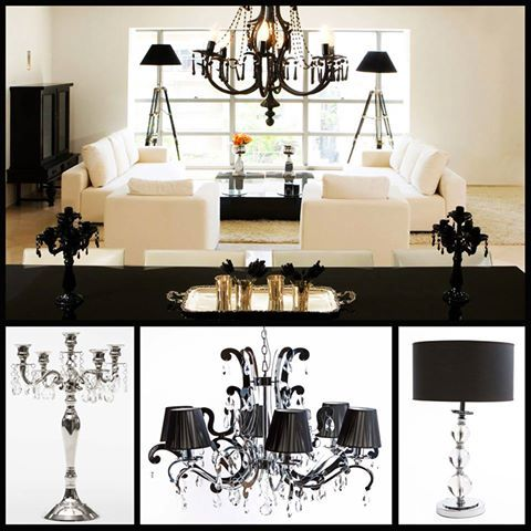 ADDRESS HOME's beautiful crystal candelabra, Empire chandelier and accent Turin Table Lamp