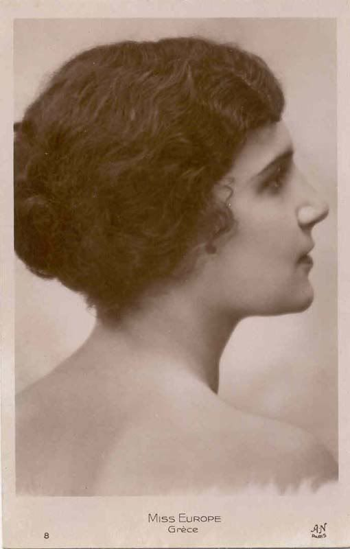 Η πρώτη Ελληνίδα «Μις Ευρώπη» το 1930, η Αλίκη Διπλαράκου