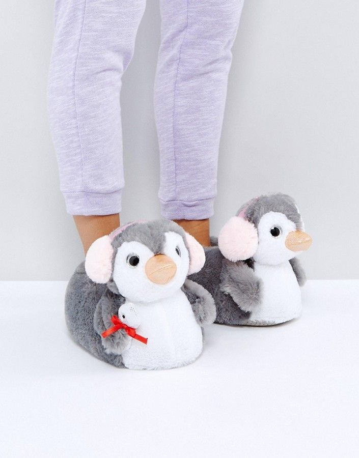 Asos Nippy Penguin Slippers