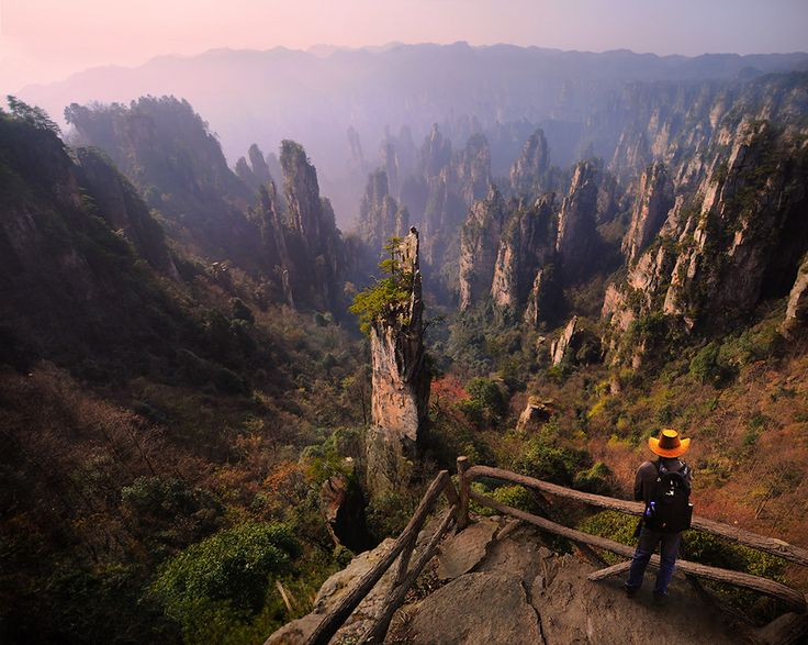 Zhangjiajie,This place inspired James Cameron (Avatar).                                                                                                        Weerapong Chaipuck