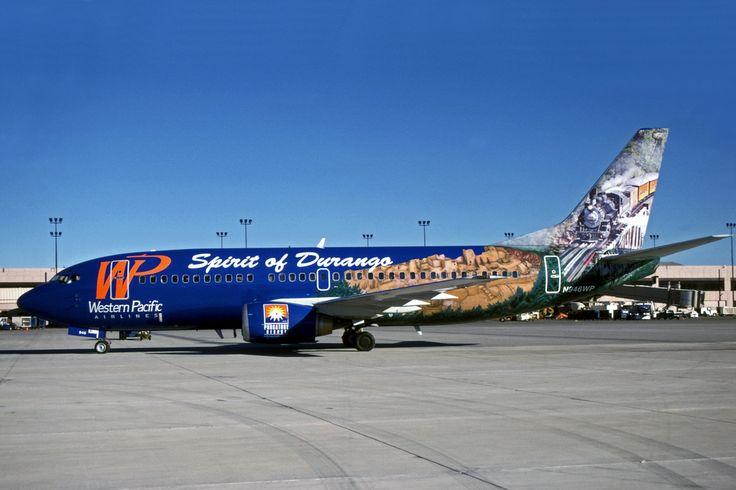 Western Pacific airlines Boeing B737-300 (Spirt of Durango)