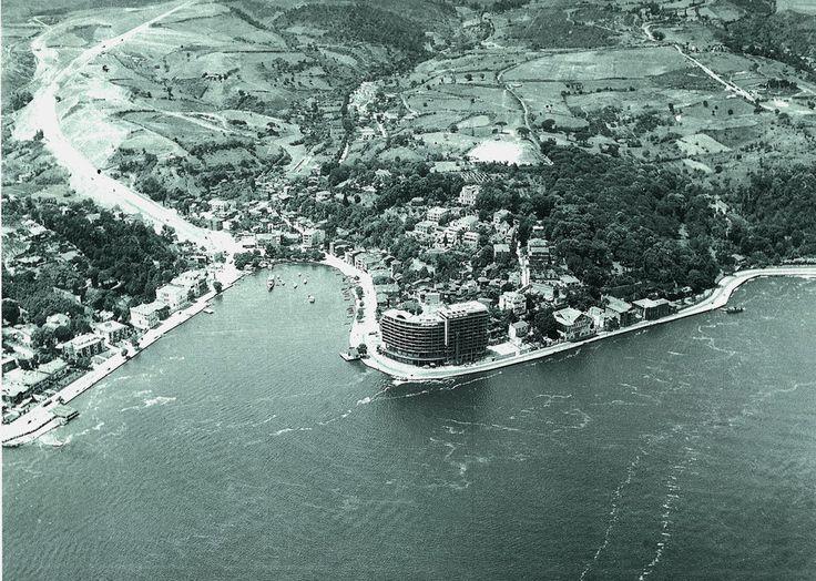 Eski İstanbul / Havadan Tarabya / 1959