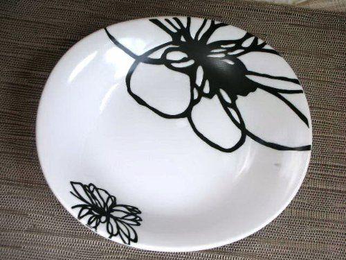 Amazon リファイン22cmカレー皿・スープ皿【アウトレット品】PS079 (黒) カレー・パスタ皿 オンライン通販