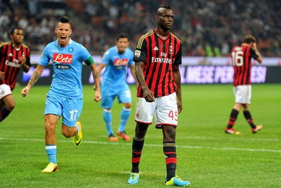 Pepe Reina ends Mario Balotelli's successful penalty streak