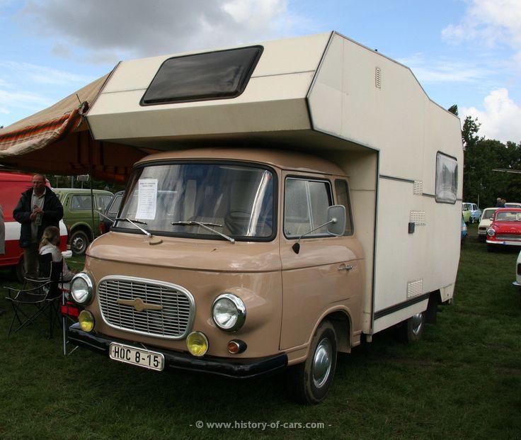 barkas 1977 b1000 camper - the history of cars - exotic cars - customs ...