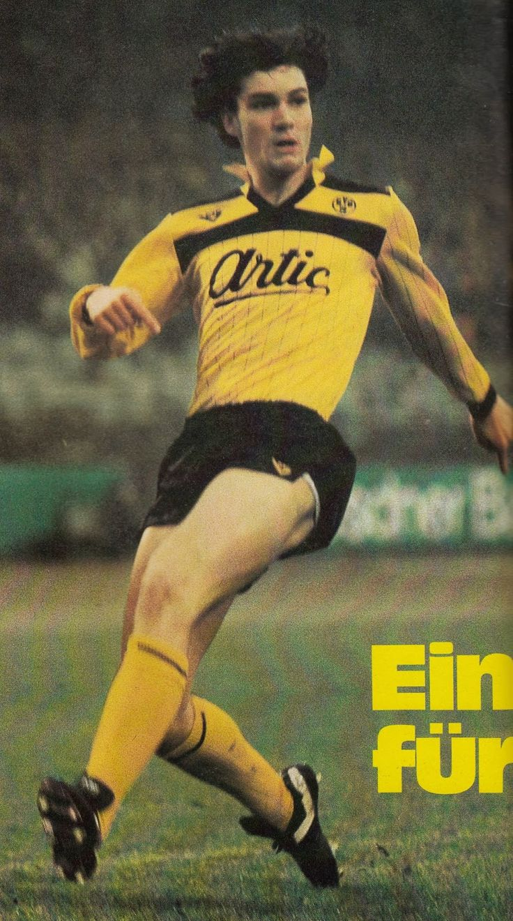 Michael Zorc of Borussia Dortmund in 1984.