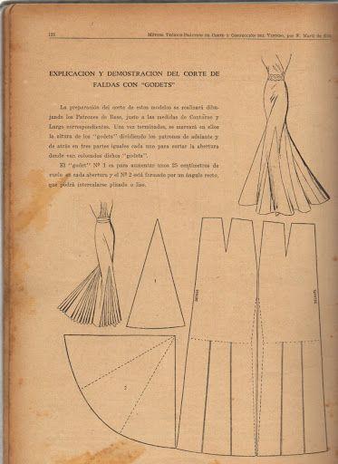 molde para hacer falda sirena - Buscar con Google