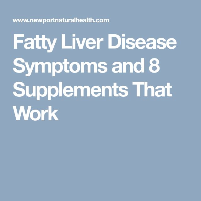 Fatty Liver Disease Symptoms and 8 Supplements That Work #LiverDetoxSymptoms #LiverDetoxSupplements