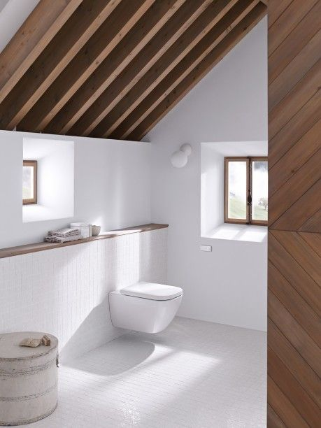 trä i badrum
