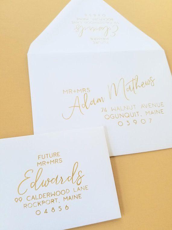 envelope address wedding calligraphy envelope calligraphy return