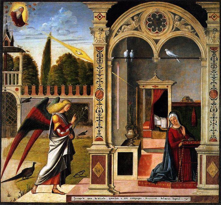Vittore Carpaccio. The Annuciation. 1504.